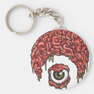 Icono de los cerebros de Osiris Llavero Redondo Tipo Pin