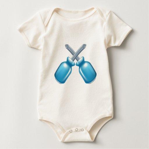 Icono de los destornilladores trajes de bebé