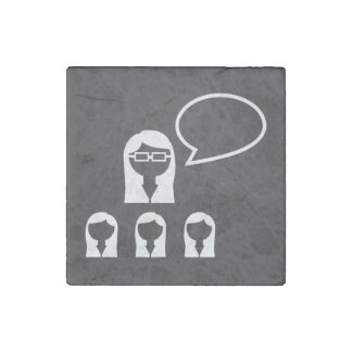 Icono de los líderes del grupo imán de piedra