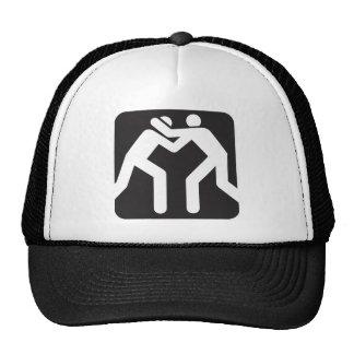 Icono de los luchadores gorras de camionero