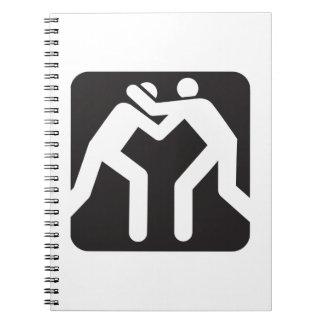 Icono de los luchadores libros de apuntes
