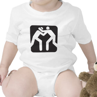 Icono de los luchadores trajes de bebé