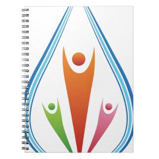Icono de los recursos de la familia libro de apuntes con espiral