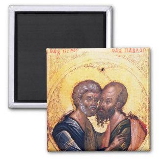 Icono de los SS. Peter y Paul Imán Cuadrado