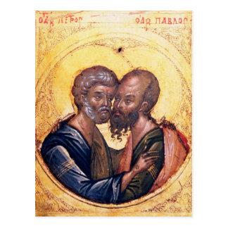 Icono de los SS. Peter y Paul Tarjetas Postales