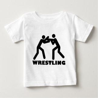 icono de lucha playera para bebé