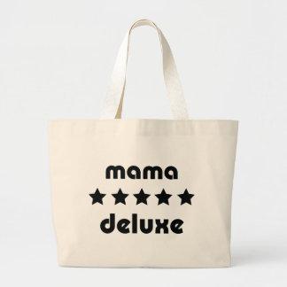icono de lujo de la mamá bolsa de tela grande