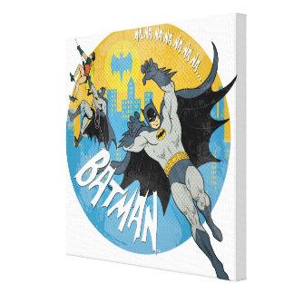 Icono de NANANANANANA Batman Impresiones En Lienzo Estiradas