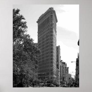 Icono de New York City - poster Póster