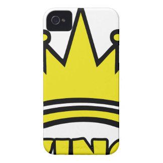 icono de oro de la corona del rey iPhone 4 Case-Mate cobertura