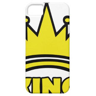 icono de oro de la corona del rey iPhone 5 funda