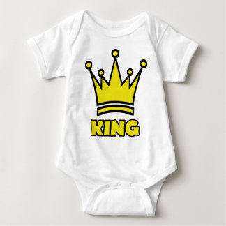 icono de oro de la corona del rey tee shirts