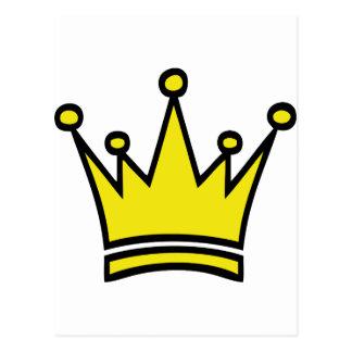 icono de oro de la corona postal