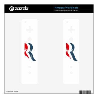Icono de Romney Calcomanía Para Mando Wii