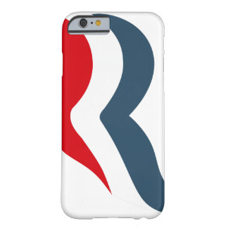 Icono de Romney Funda De iPhone 6 Barely There