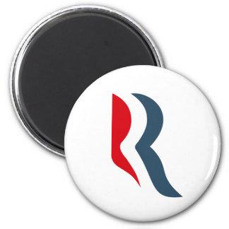 Icono de Romney Imán Redondo 5 Cm