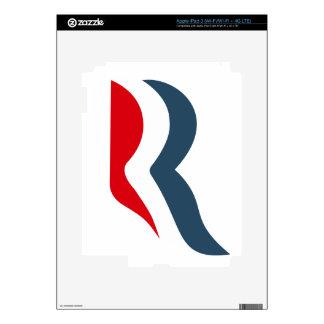 Icono de Romney iPad 3 Pegatinas Skins