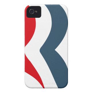 Icono de Romney iPhone 4 Protectores