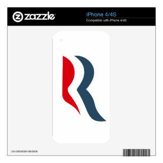 Icono de Romney Skin Para El iPhone 4