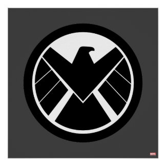 Icono de S.H.I.E.L.D Póster