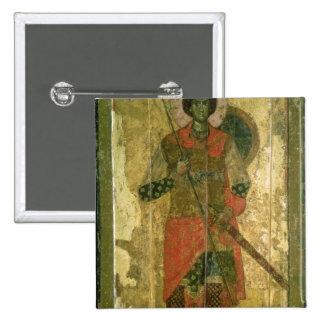 Icono de San Jorge, 1130-50 Pin Cuadrado