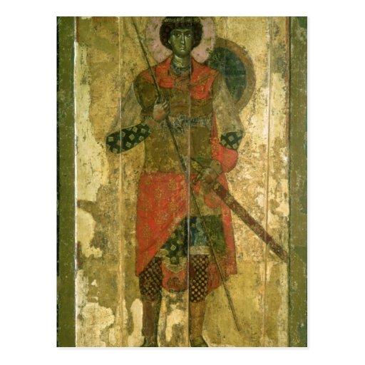 Icono de San Jorge, 1130-50 Postales