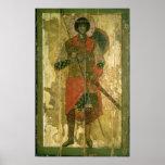 Icono de San Jorge, 1130-50 Posters