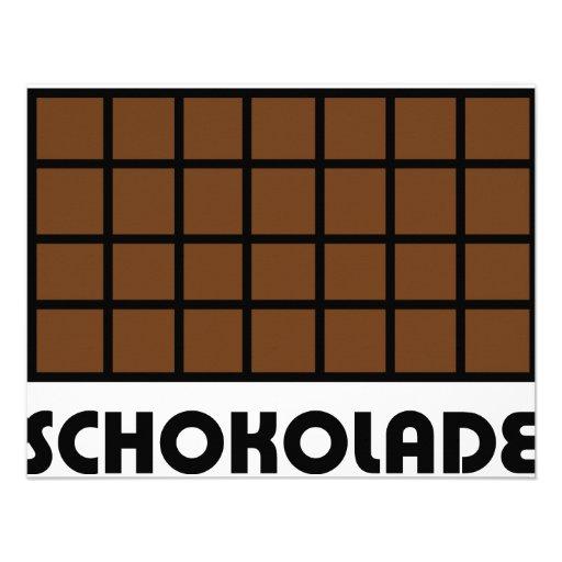 Icono de Schokolade Comunicados Personalizados