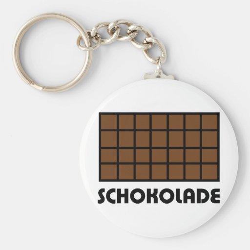 Icono de Schokolade Llaveros