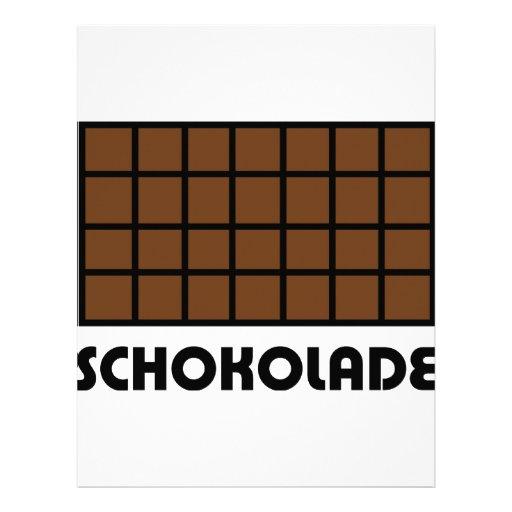 Icono de Schokolade Membrete