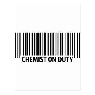 icono de servicio del químico postal