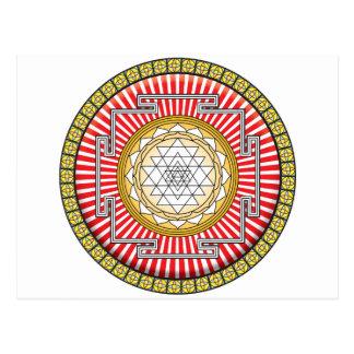 Icono de Shri Yantra Postales