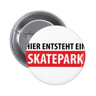 Icono de Skatepark del ein del entsteht de Hier Pin