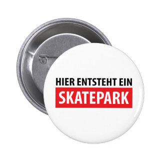 Icono de Skatepark del ein del entsteht de Hier Pins