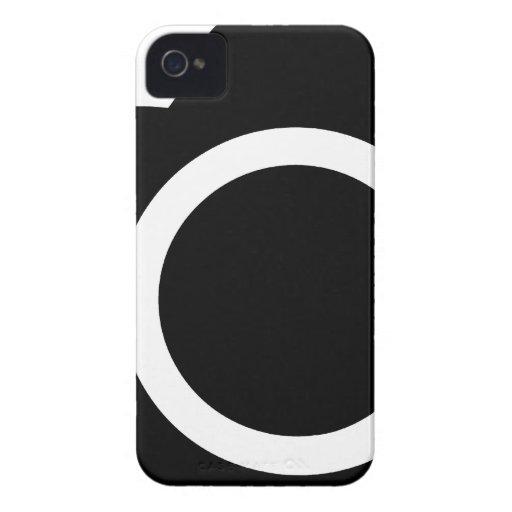 icono de SLR de la cámara refleja de la sola lente iPhone 4 Case-Mate Cobertura