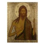 Icono de St. John el precursor Postales