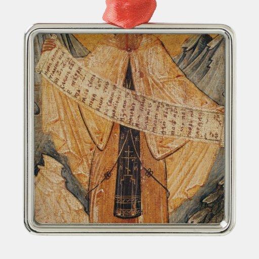 Icono de St. Sabas de Jerusalén, 1572 Ornamento De Navidad