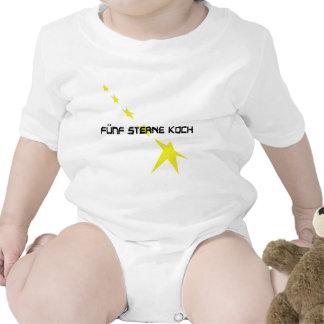icono de Sterne Koch del fünf Trajes De Bebé