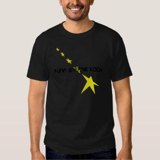 icono de Sterne Koch del fünf Remera