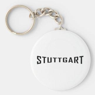 icono de Stuttgart deutschland Llavero Redondo Tipo Pin