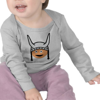 icono de vikingos camiseta