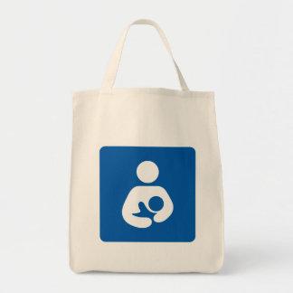 Icono del amamantamiento del oficio de enfermera bolsa de mano