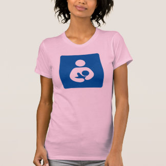 Icono del amamantamiento/del oficio de enfermera camiseta
