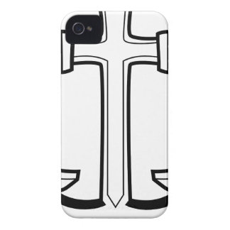 Icono del ancla del barco iPhone 4 carcasas