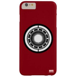 Icono del arco del hombre del hierro funda barely there iPhone 6 plus
