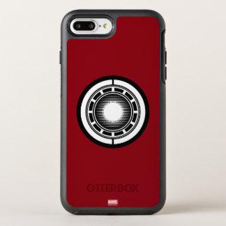 Icono del arco del hombre del hierro funda OtterBox symmetry para iPhone 7 plus