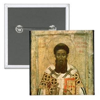 Icono del arzobispo de St Gregory de Salónica Pins