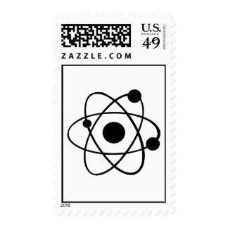 Icono del átomo sello