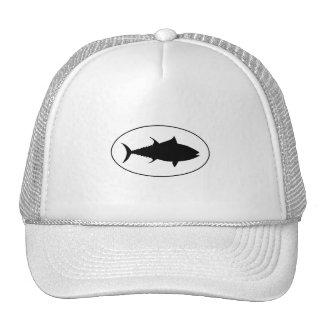 Icono del atún gorros bordados