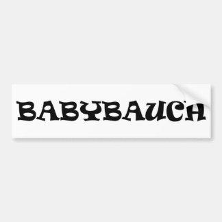 icono del babybauch pegatina para auto